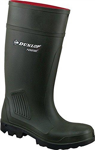 Stivali Purofort Professional S5CI PU, misura 45Verde scuro Dunlop 100% impermeabile