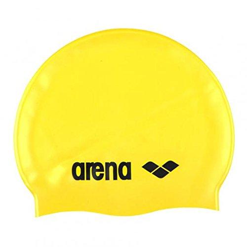ARENA - CUFFIA CLASSIC LOGO SILICONE CAP - 9166235 - YELLOW, BLACK