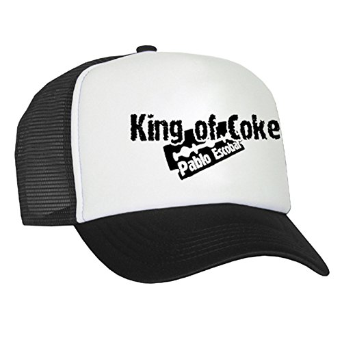 Raphia Art King of Coke Casquette en maille - Pablo Escobar