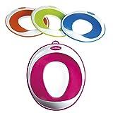 Toiletten-Training-Sitz – Kinder-Toiletten-Training-Klobrille für Jungen und Mädchen – sichere rutschfeste Oberfläche – UMSONST mitgeliefert: Haken mit Saugnapf zur Aufbewahrung