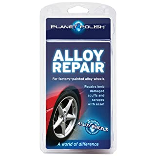 Alloy Wheel Repair Kit by Planet Polish - Repair Kerb Scuffs and Scrapes