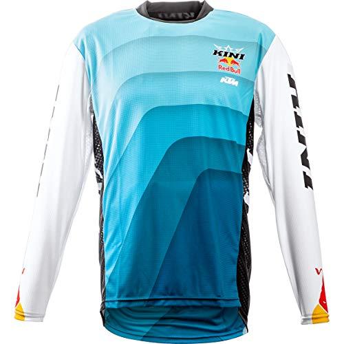 Kini Red Bull Shirt, Jersey Cross Jersey Vintage blau/weiß XL, Herren, Cross/Offroad, Ganzjährig, Polyester - Vintage Bull