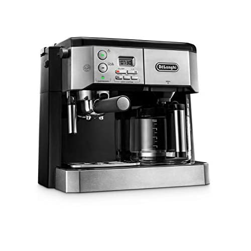 41IEt5t2DjL. SS500  - De'Longhi Combi Coffee Machine, Traditional Pump Espresso and Filter Coffee, 1.25 Liter, BCO431.S, Black and Stainless Steel