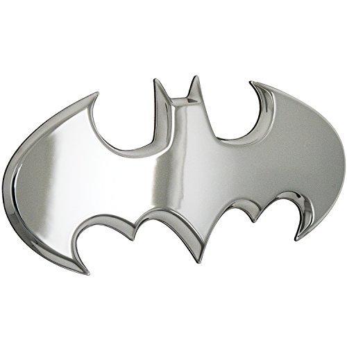 Fan Emblems Batman Batwing Logo 3D Auto Emblem Chrom, DC Comics Automotive Aufkleber Abzeichen Biegt vollständig an Autos, Lastwagen, Motorräder, Laptops, Windows, fast alles haften