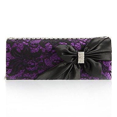 pwne Der Woma Wellenpaket Export Abendessen Spitze 30 Prozent Ms Beliebte Paket Tasche Purple