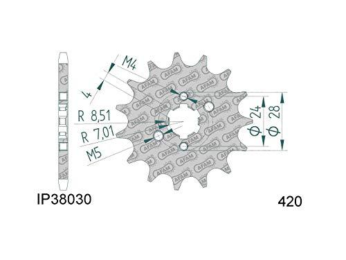 Kettenritzel 11Z 420 für Derbi D50B0, EBE, EBS