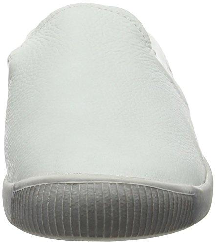 Softinos Damen Imo447sof Ballerinas White (White)