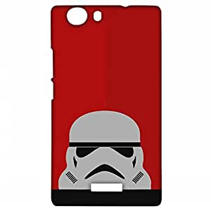 Lorem Stormtrooper (Star Wars) Matte Back Cover For Micromax Canvas Nitro 2 (A311)