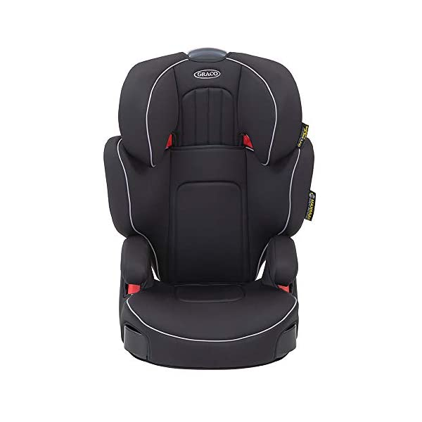 Graco Assure Highback Booster Car Seat, Group 2/3, Black Graco For children 15 to 36kg (approx. 4 to 12 years) Safety surround side impact technology, which gives your child the best head and body protection Built-in armrest and soft seat cushions add comfort to every journey 1