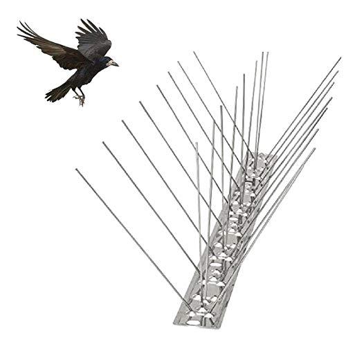 6 Stück 50 cm Anti-Bird Thorn Repeller Bird Anti-Bird Anti-Dove Spikes Pest Control Orchard Bird Catcher - umweltfreundliche Nägel für Edelstahl, First-Rate Cool 1 pz