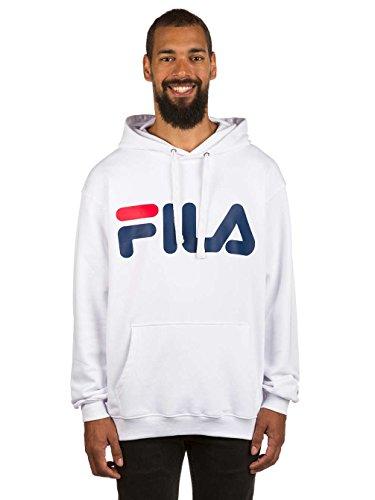 Fila Classic Logo Hoody, Sweatshirt - S (Man Sweatshirt Hoody Logo)
