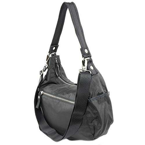 George Gina & Lucy Swingeling Schultertasche 34 cm more tan grey