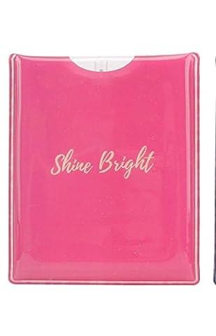 Lampe torche LED Lampe de poche pratique Sac à main Portefeuille Shine Bright ou Born to Shine rose