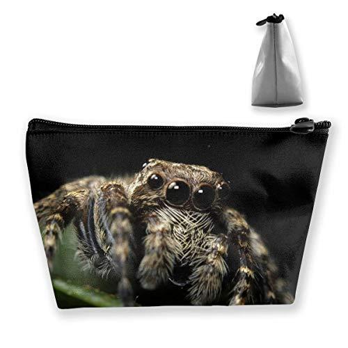 Trapez-Kulturbeutel Tragbare Reisetasche Spider Reality Pen Organizer
