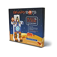 BinaryBots DimmTM Single STEM Toy Robot - without BBC micro:bit | Code while having fun | Age 8 Years and Up