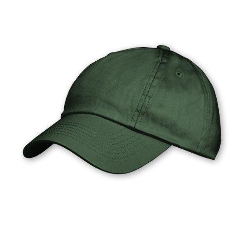 RESULT Unisex Kinder Baseball Kappe, einfarbig (One Size) (Flaschengrün)