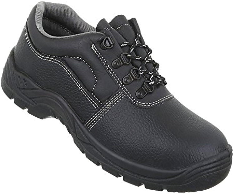 Herren Schuhe Halbschuhe Schnürer Leder