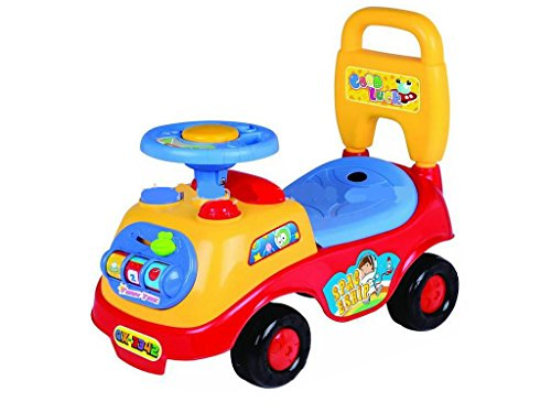FiNeWaY@ MY FIRST RIDE ON KIDS TOY CARS BOYS GIRLS PUSH ALONG TODDLERS INFANTS CHILDREN (RED) by MY RIDE