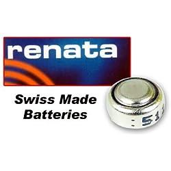 Renata Mercury Free 1.55 Volt 319 Watch Battery Replaces SR527SW 319