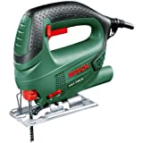 Bosch DIY Stichsäge PST 700 E (500 W, Schnitttiefe Holz 70 mm, Schnitttiefe Stahl 4 mm, Koffer, 1 x Sägeblatt T 144 D) 06033A0000