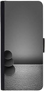 Snoogg Black Zen Stones Backgrounddesigner Protective Flip Case Cover For Son...