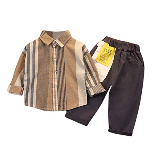 4PCS Bekleidungssets Prinzessin Mädchenkleidung Outfit Set Neugeborenes Langarm T-Shirt Tops Hemd +Lange Hosen +Deckel+Stirnbänder Kleidung Rüschen Tracksuit Hoodie Pullover