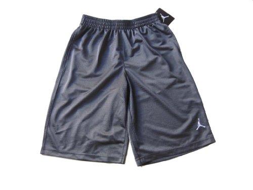 Boys Nike Air Jordan Mesh Athletic Shorts (Extra Large, Dark Grey) - Kinder Jordan Für Air Kleidung