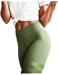 Pantalon de sport Femmes Amlaiworld Taille Haute Leggings de Yoga, Pilates, Plank, Jogging et Fitness