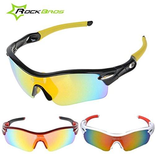 Bazaar RockBros polarisierte Fahrrad einen.Kreislauf.durchmachenfahrrad Sonnenbrille Glas Schutzbrillen