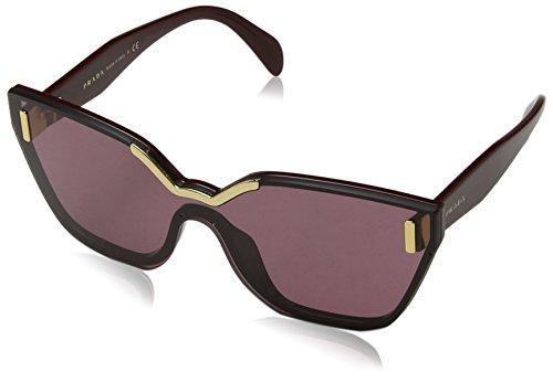 Prada Damen 0PR16TS TY7098 48 Sonnenbrille, Rot (Bordeaux/Violet),
