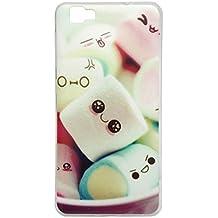 Prevoa ® 丨CUBOT X15 Funda - Colorful Silicona Funda Cover Case para CUBOT X15 5.5 Pulgada Smartphone - 3