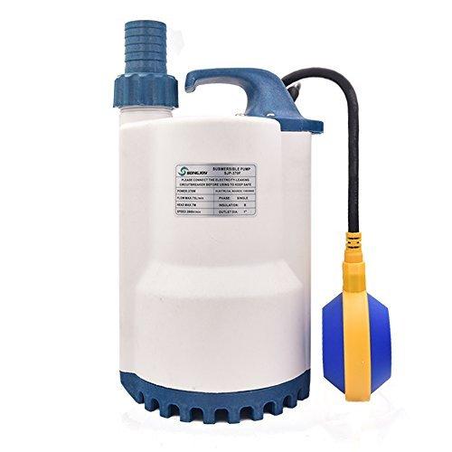songjoy Ölwanne Pumpe elektrische Tauchpumpe Utility Wasser Pumpe für sauberes Wasser Pool Teich Keller Drainage Garten Bewässerung Wasser Transfer 0.5 HP -