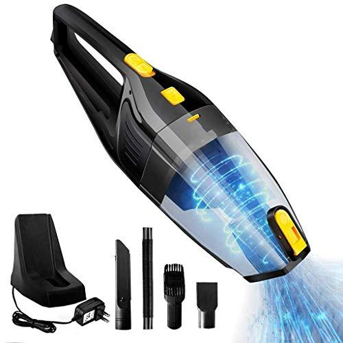 Zmsdt aspirapolvere ricaricabile per la pulizia dell'auto per la casa portatile aspirapolvere portatile per ciclone potente 6000 pa con aspirapolvere