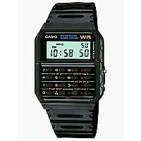 Casio Calculator Unisex Digital Dial Rubber Band Watch - CA53W-1