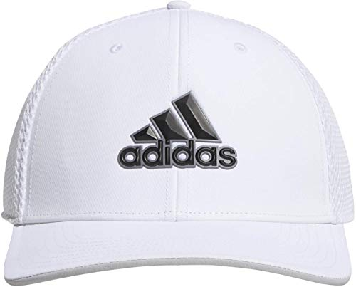 adidas Herren A-Stretch Tour Hat Baseball Cap, Weiß (Blanco Dt2307), One Size (Herstellergröße: S/M) Adidas Stretch Hat