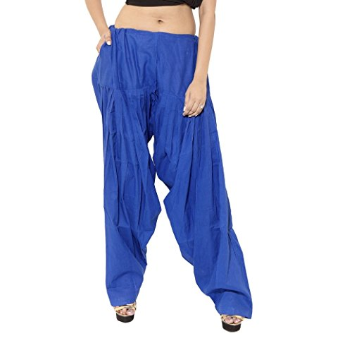 Kurti Studio Women Royal Blue Premium Patiala Salwar