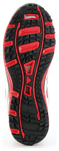 ConWay Sportschuhe Outdoor Trekking Schnürsenkel Herren Schuhe Torpedo Rot Rot