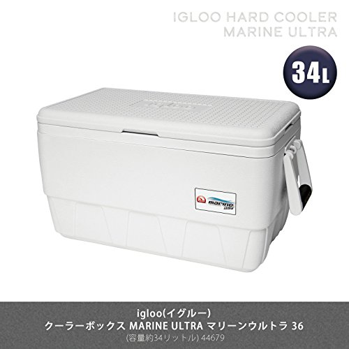 Igloo Cooler 18-44681 Nevera, Blanco, Única