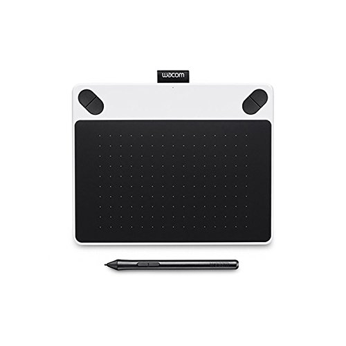 Wacom Ctl-490/w0-cx Small Draw Pen Tablet (6.7 Inch), White