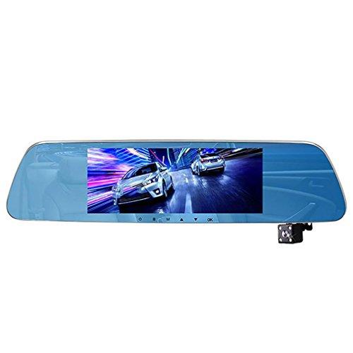 WJJ- 1080p HD in der Auto-Schlag-Kurven-Kamera, DVR Armaturenbrett-Videogerät, 170 Grad Weitwinkelobjektiv, 7.0-Zoll-Schirm, G-Sensor, Bewegungs-Abfragung, Schleifen-Aufzeichnung, Nachtsicht