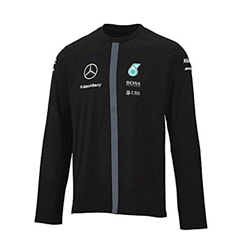mercedes-amg-piloto-de-frmula-uno-f1equipo-camiseta-para-hombre-de-manga-larga-t-shirt-negro-negro-s