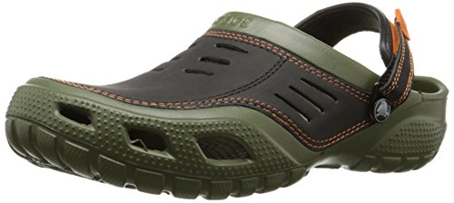 Crocs Yukon Sport Men, Herren Clogs, Grün (Army Green/Black 30Q), 48/49 EU