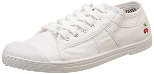 Le Temps des Cerises - BASIC 02_Femme - Baskets - Femme - Blanc (White) - 38 EU