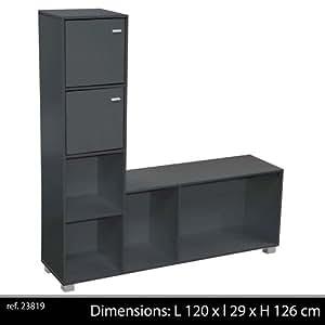 Meuble television de living pour tele tv salon armoire for Armoire television salon
