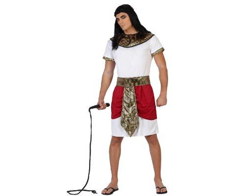 Atosa-22815 Disfraz Egipcio, color rojo, XL (22815)
