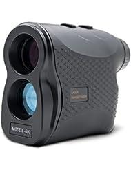 ERAY 600M Télémètre Golf, Télémètre Laser pour Golf - Zoom Optique 6x, Mesure Multimode (Mesure de Distance en continu + Mode de Brouillard + Mode de Verrouillage Cible + Mesure de Vitesse), Noir
