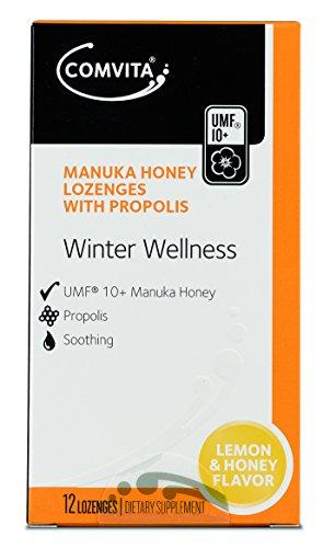 Manuka Lutschtabletten (Manuka-Honig-Lutschtabletten mit Propolis ZITRONE UND HONIG)