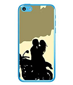 Snapdilla Designer Back Case Cover for Apple iPhone 5c (Wallpaper Fun Travel Purity Background Image)