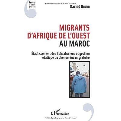 Migrants d'Afrique de l'Ouest au Maroc