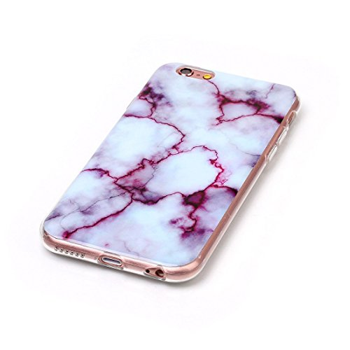 Yaking® Apple iPhone 6/6S Coque Silicone TPU Case Cover Gel Étui Housse pour Samsung Galaxy S7 Edge 1-F
